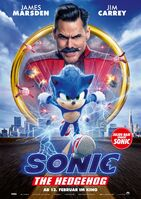 SonicMovie GermanPoster