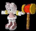Sonic 06 Model Amy