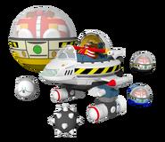 S4 Model Flying Eggman
