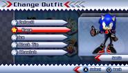 Sonic's Race Suit
