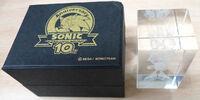 Sonic 10th crystal cube