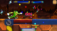 Sonic Runners Vector Gameplay
