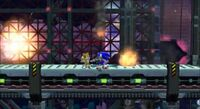 Sonic and tails in exploding base