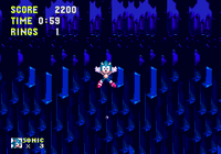 Bottomless Pit Sonic 3