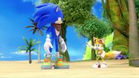 SB S1E19 Tails warns Sonic