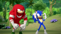 SB S1E25 Knuckles Sonic angry