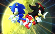 Sonic vs Shadow Generations