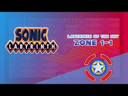 Labyrinth of the Sky Zone 1-1 - Sonic Labyrinth