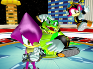 Robot Carnival Chaotix victory