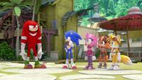 SB S1E13 Team Sonic village
