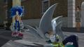 Sonic beats Silver