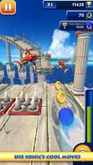 Sonic Dash screen 3