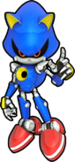 Metal Sonic Runners art