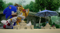 SB S1E50 Sonic Tails friends