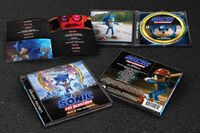 Sonic movie OST CD