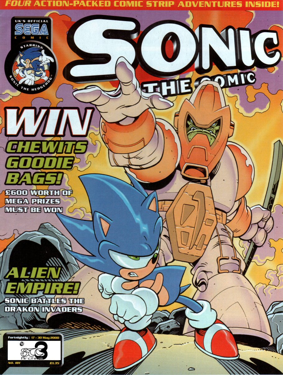 Sonic the Comic Issue 181