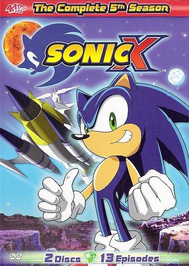 Sonic X: The Complete 5th Season