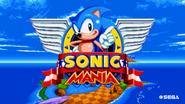 Sonic Mania title screen