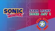 Star Light Zone Act 1 - Sonic the Hedgehog