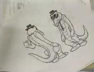 Arte conceptual de Vector (Sonic the Hedgehog manga)