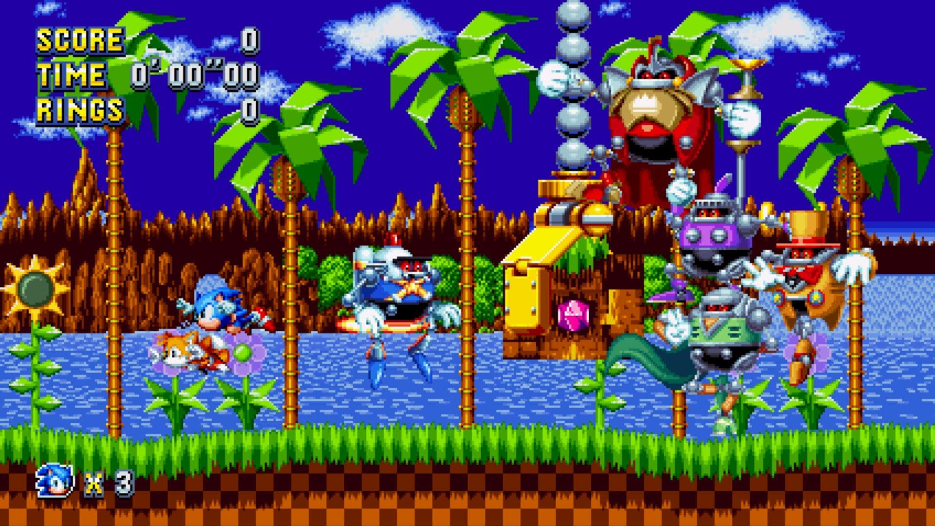 Green Hill Zone (Sonic Mania)/Galeria
