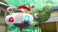 SB S1E38 Eggman Ball Bots attack