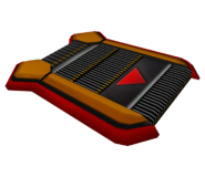 Sonic 06 Model Dashpad