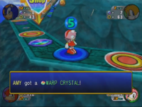 Warp Crystal in-game