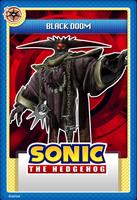 Black doom stampii trading card