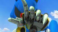 S1E44 Metal Sonic hand