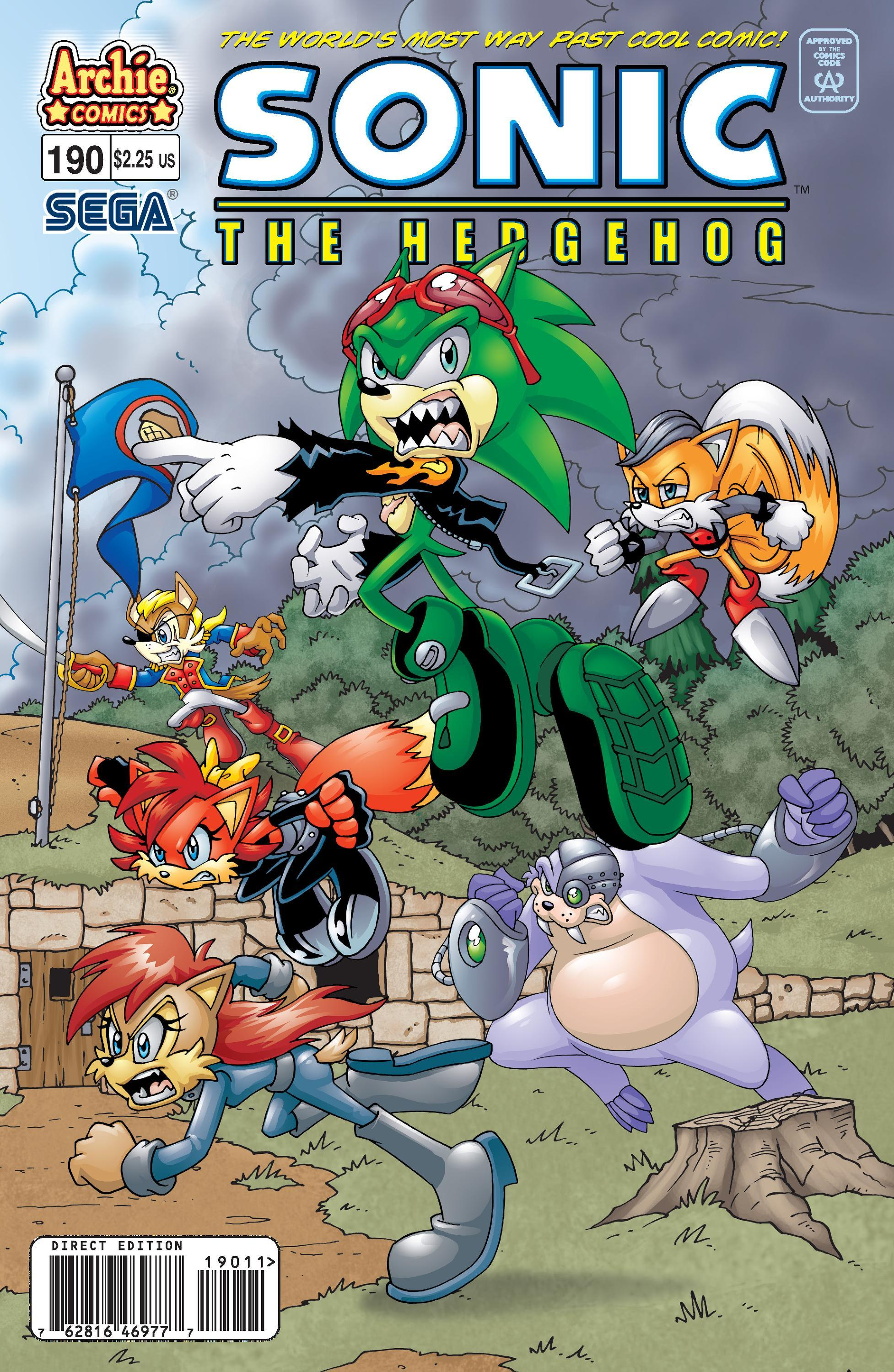Archie Sonic the Hedgehog Issue 190
