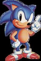 Sonic 1 USA Sonic