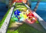 Jump Dash Team Sonic