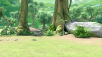 SB S1E10 Forest background