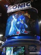 Sonic Elise y Eggman cartel Sonic 2006
