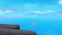 S1E03 Lair cliff
