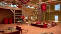 SB S1E23 Tails Workshop interior