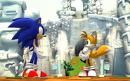 SG Sonic i Tails w Green Hill