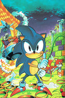 Sonic yearbook 1993 cover art