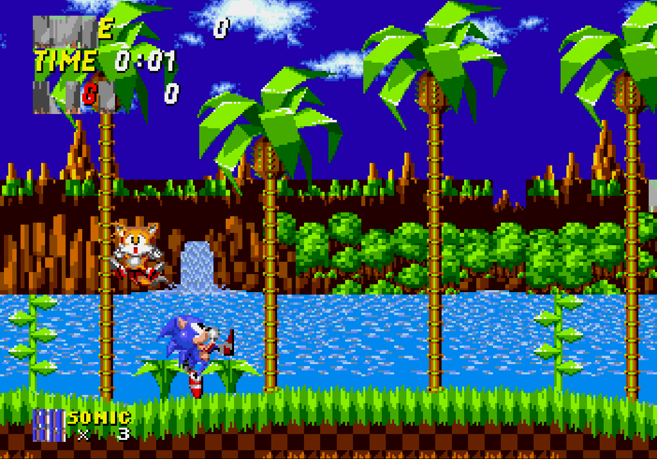 Sonic the Hedgehog 2 (прототип Nick Arcade)