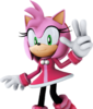 Amy Rose (Character Select Artwork) (Mario & Sonic 2014)