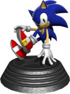 Generations statue Modern Sonic
