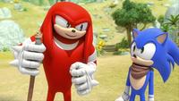 SB S1E13 Knuckles Sonic