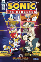 Sonic IDW 13 Cover A