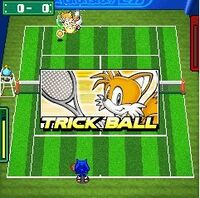Sonic Tennis DX image 3