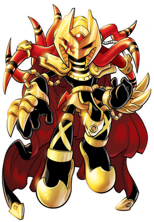 Knuckles the Echidna (Dark Mobius)