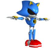 Forces Model Metal Sonic