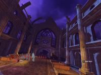 Graveyard Gig Destroyed Hall