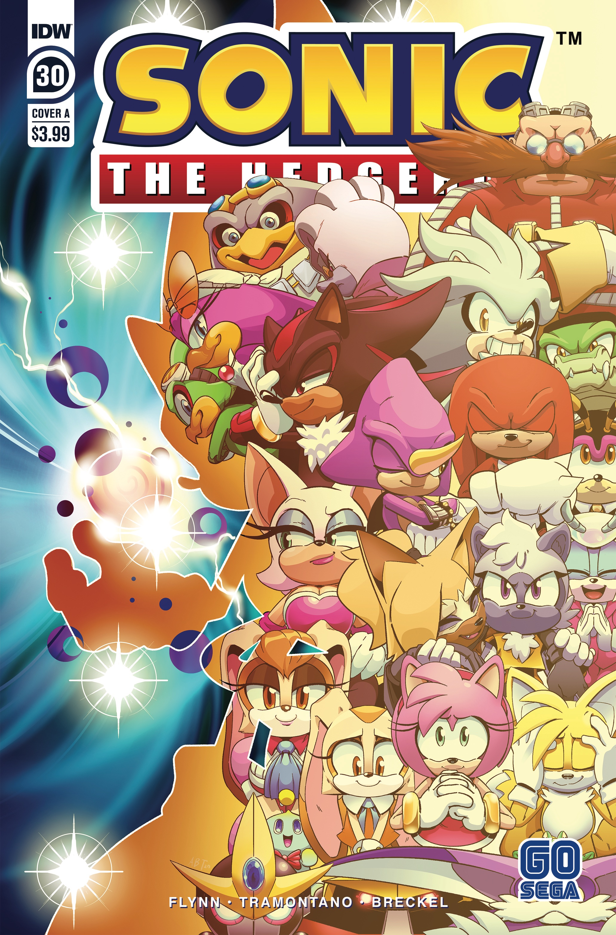 IDW Sonic the Hedgehog Issue 30