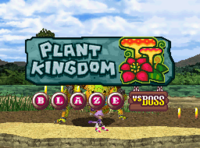 Plant Kingdom Vs Boss Blaze title card